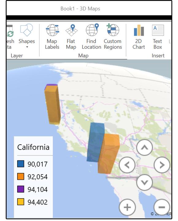 3D Maps/Power Maps