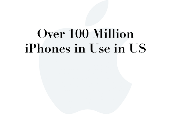100 million iphones