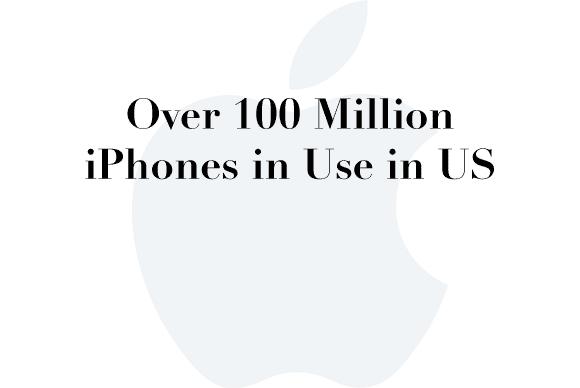 100 million iphones
