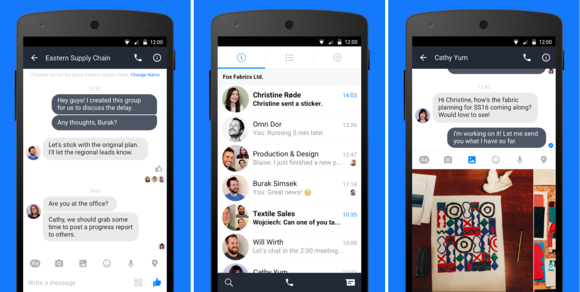 Facebook starts testing long-awaited Work Chat app for ...