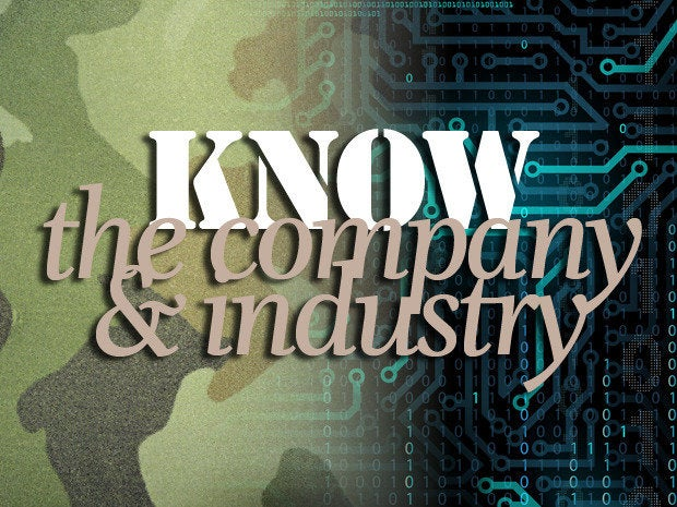 Know the company and industry