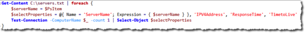 Adding ServerName