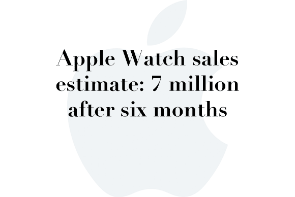 7 million apple watch
