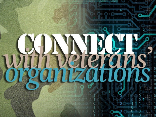 Connect with veterans' organizations