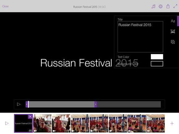 adobe premiere clip ipad titles