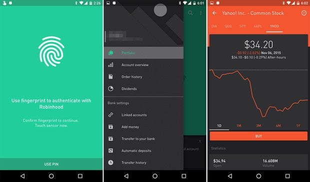 android mm updated robinhood