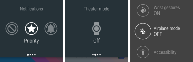 android wear battery modes
