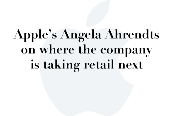 angel ahrendts retail