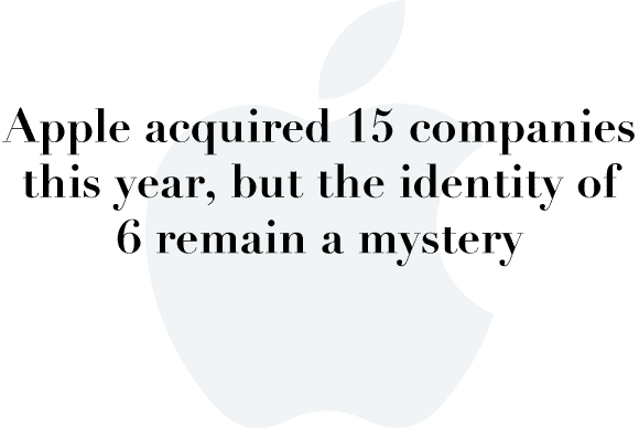 apple aquisitions