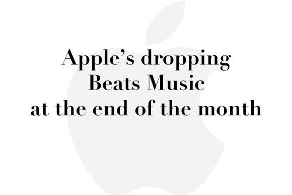 apple drops beats