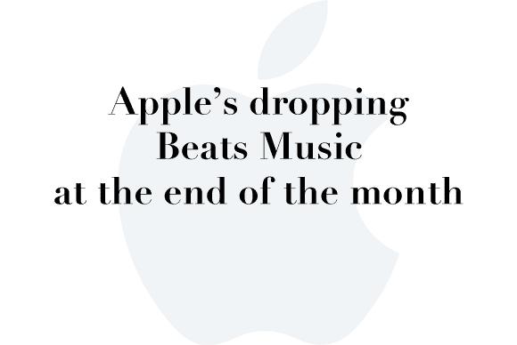 apple drops beats