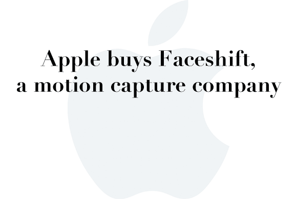 apple faceshift