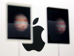 apple logo reuters