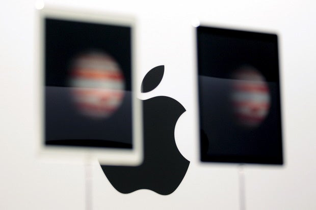 apple logo reuters