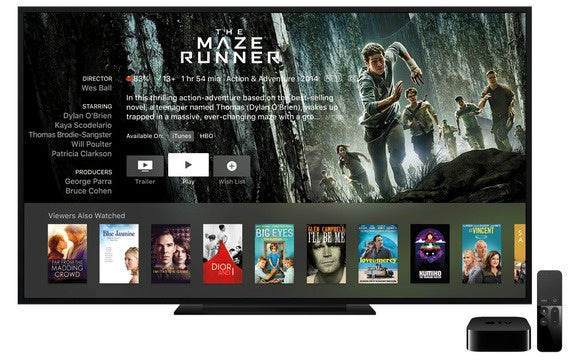 apple tv 2015 maze runner stock