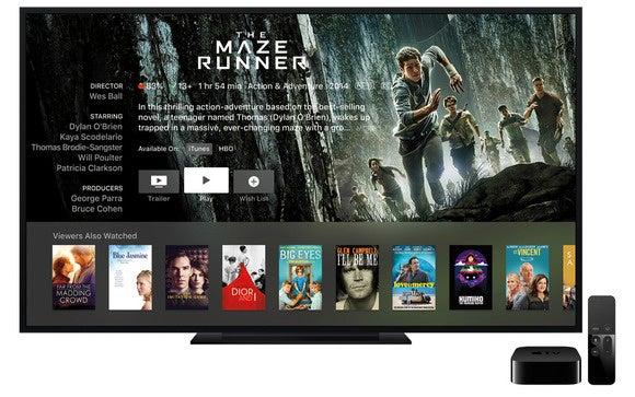 apple tv 2015 maze runner stock