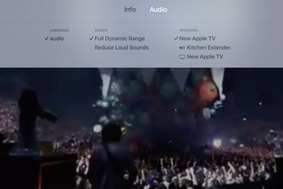 apple tv audio
