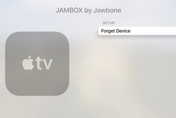 apple tv forget device
