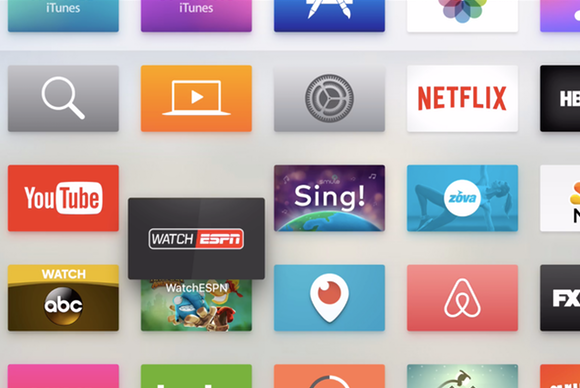 apple tv move apps
