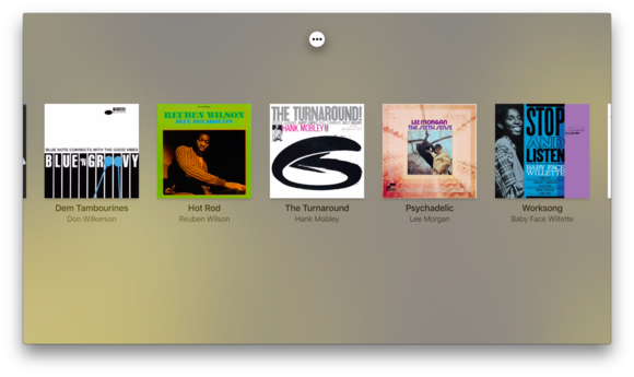 apple tv music now playing