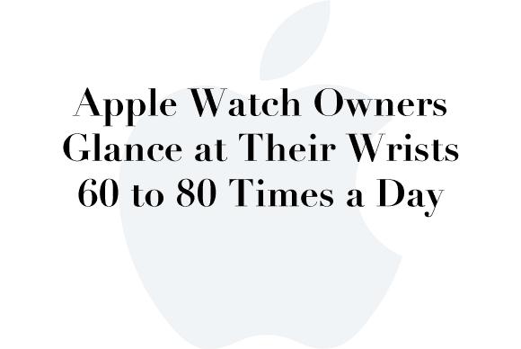 apple watch glance