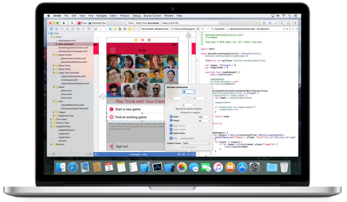 apples xcode development tool