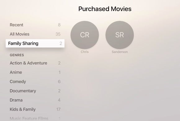 how to turn on home sharing without apple tv remote