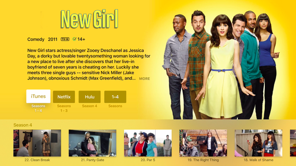 appletv search new girl