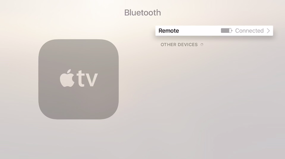 appletv settings remote battery