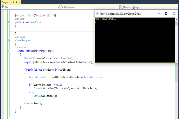 How to work with attributes in C#   InfoWorld