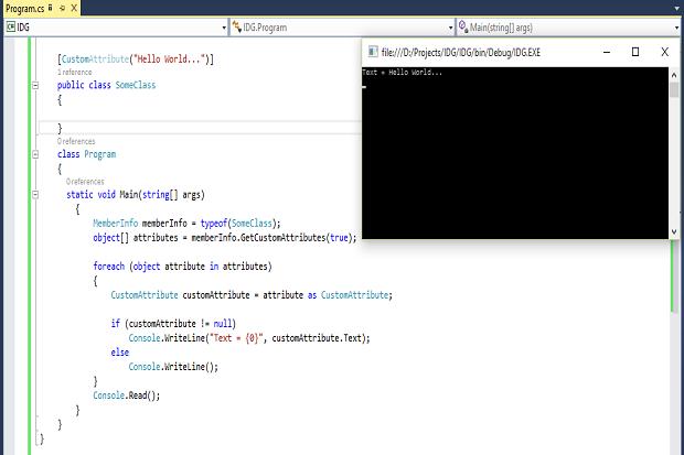 Attributes in C#