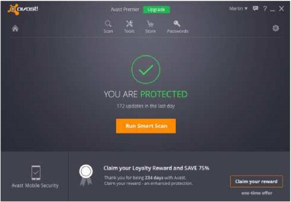 avast preventing windows updates