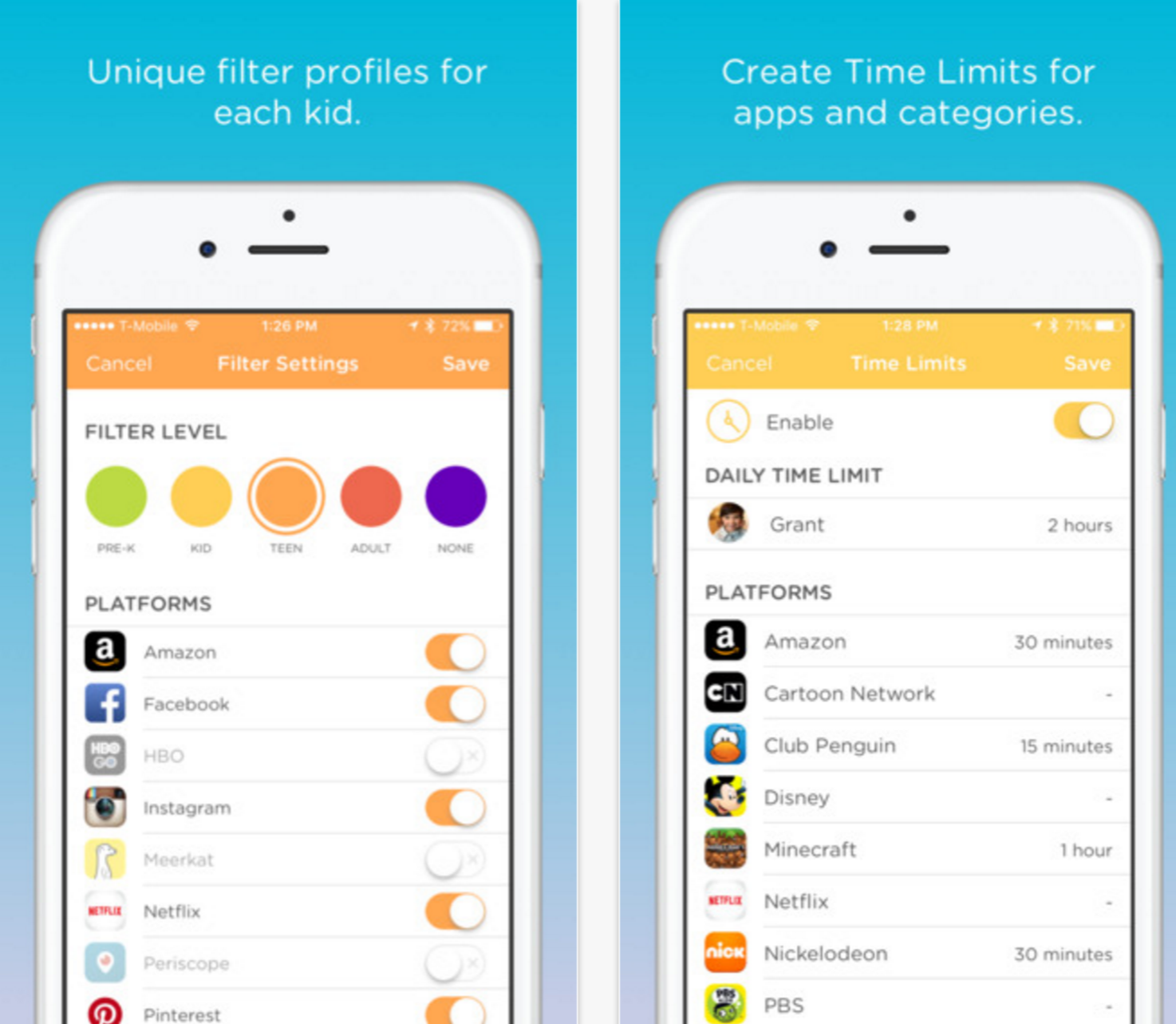Image result for Circle app monitor kids social media