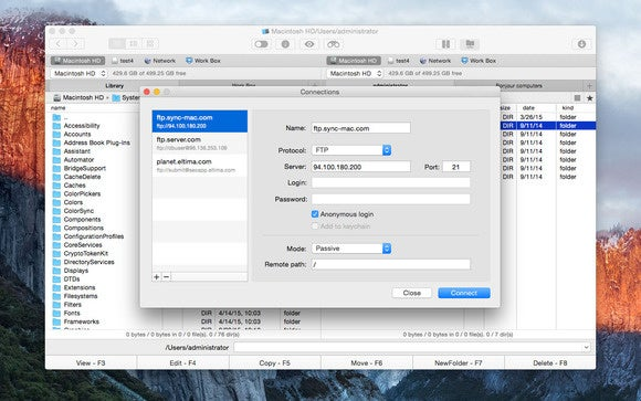 commander one ftp manager
