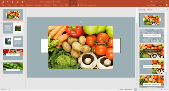 powerpoint 2016 helps users design slides that aren t terrible
