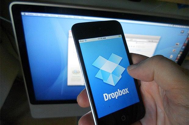 dropbox smartphone mobile