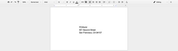 envelopes screenshot