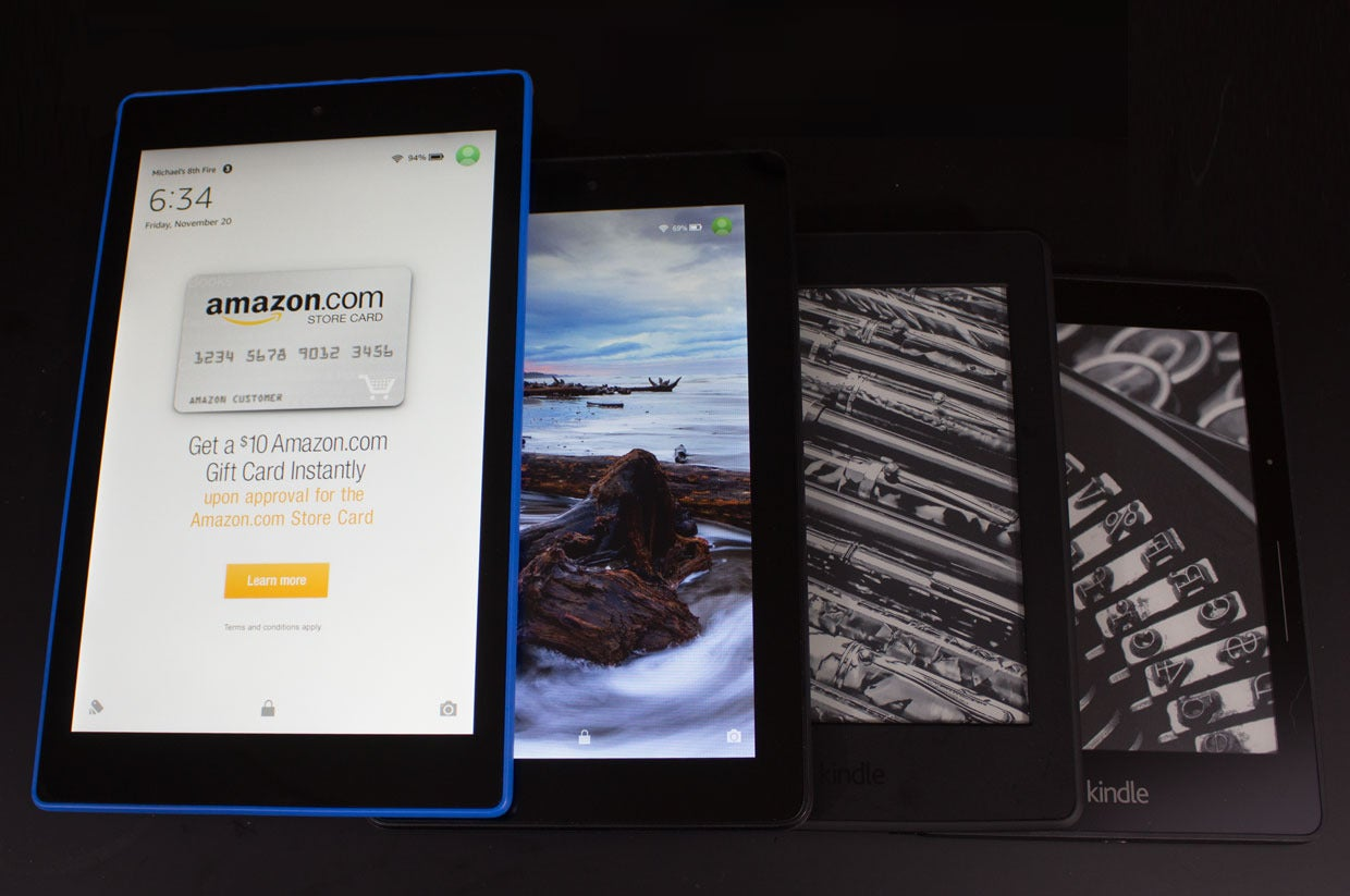 How to choose the right Amazon e-reader | PCWorld