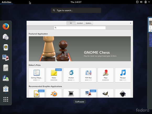 fedora23software