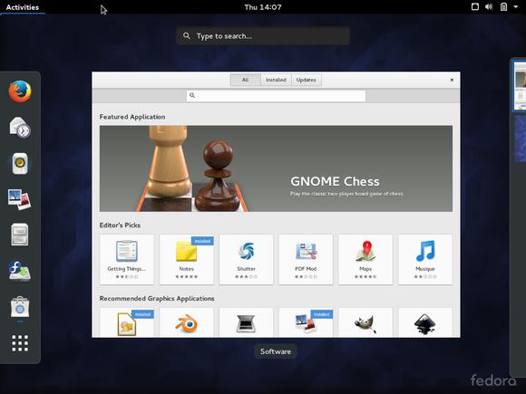 fedora23software