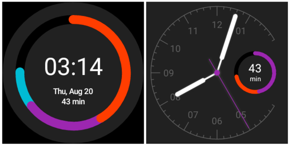 google fit watch faces