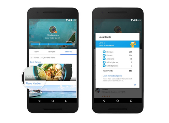 Google offers 1TB of Drive storage, other perks in exchange for more Maps reviews