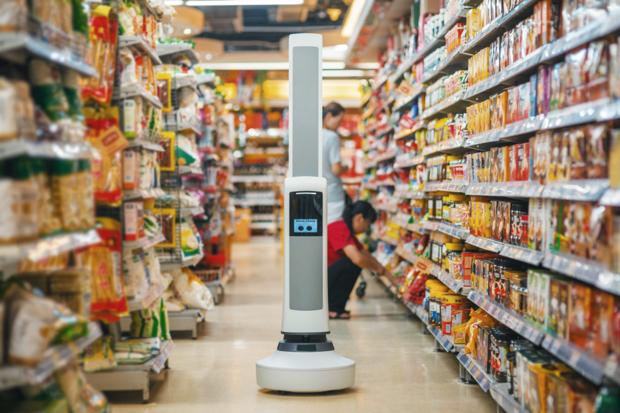 grocery robot simbe robotics