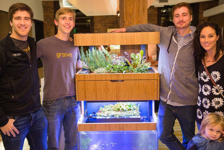 Grove Labs Brings Its Fish Powered Smart Indoor Garden To Kickstarter Techhive
