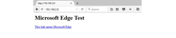 A simple webpage