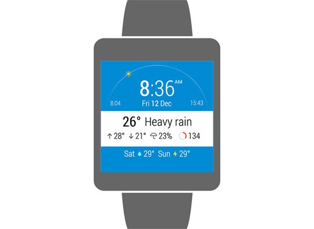 InstaWeather Watch Face Android Wear