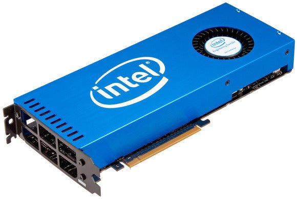 Intel's new 72-core Xeon Phi chip is aimed at machine learning.