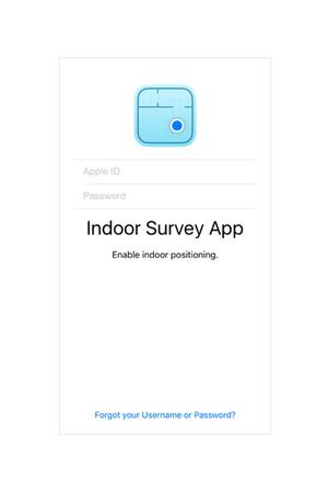 ios indoor survey