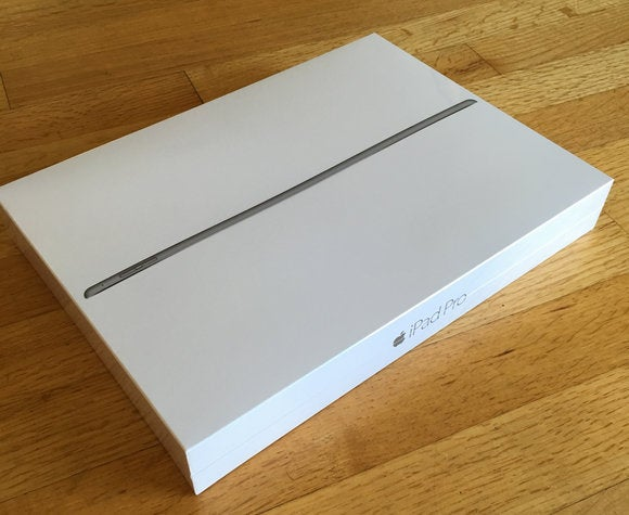 ipad pro in box
