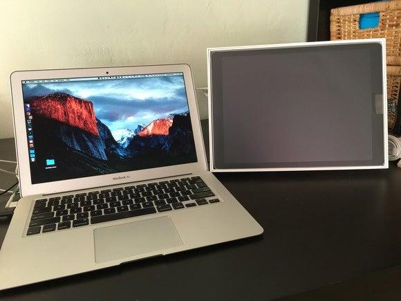 ipad pro macbook air